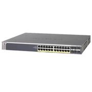 NetGear Switch ProSafe 24x PoE 10/100/1000Mbps RJ45 + 4x SFP